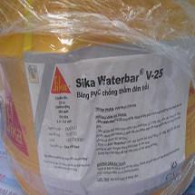 Băng cản nước sika waterbar V25 chính hãng, giá rẻ toàn quốc