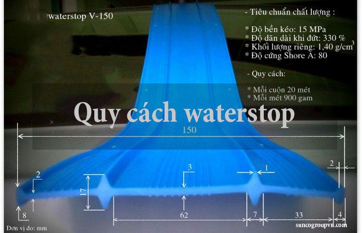Tìm hiểu về quy cách waterstop ?